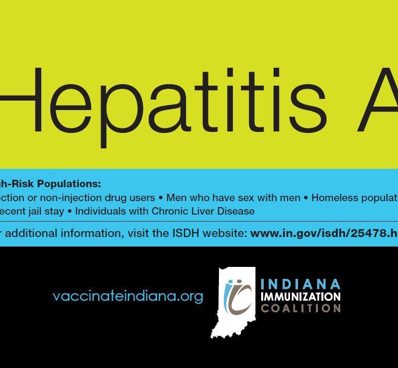Hepatitis A Outbreak Postcard