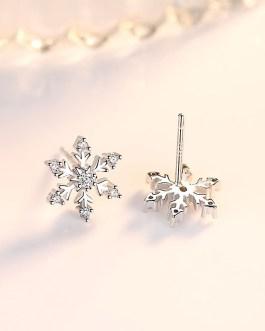 Snowflake earrings vacelery
