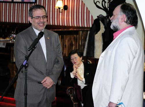Nagy Imnre és Saeed Seyed Agha Banihashemi, Irán budapesti nagykövete