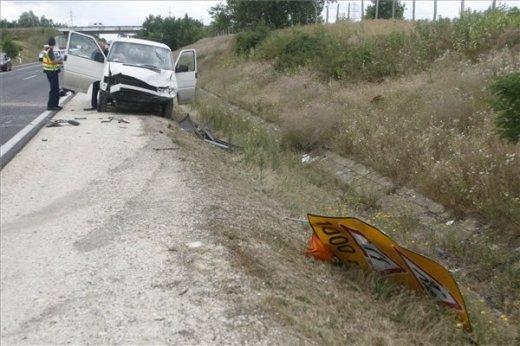 halálos baleset Vác közelében - MTI