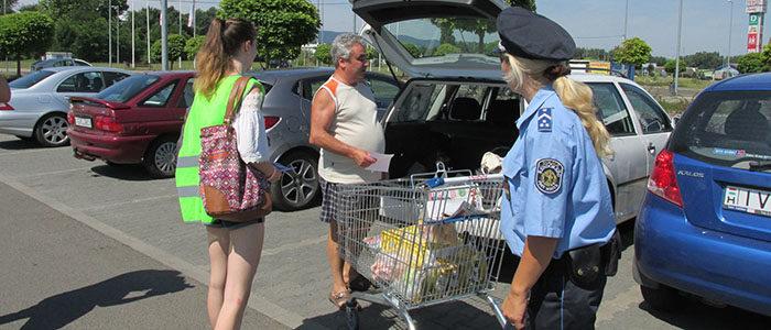 Közösségi szolgálat a rendőrségen