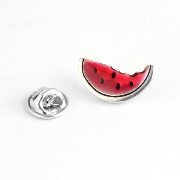 Silver Pin  Watermelon