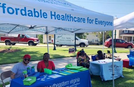 #MemberMonday: Southeastern Virginia Health System Attends Franklin African American Festival