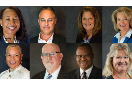collage of photos of our board of directors
