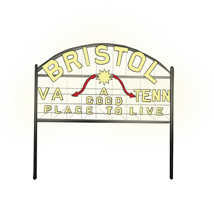 Drawing of Bristol Sign