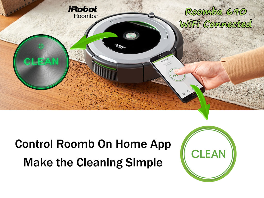 Roomba 690 WiFi Connected