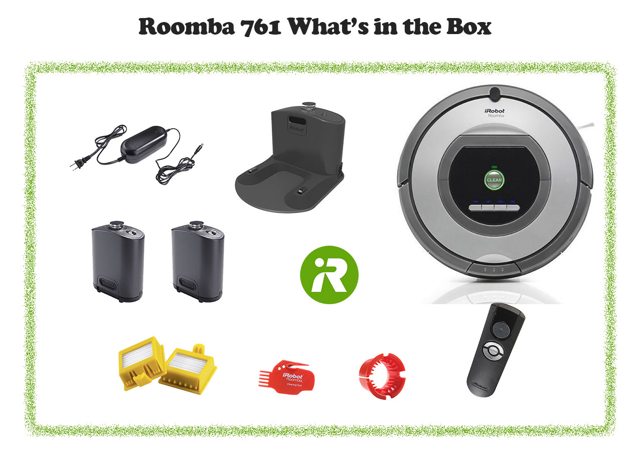 Roomba 761 in box