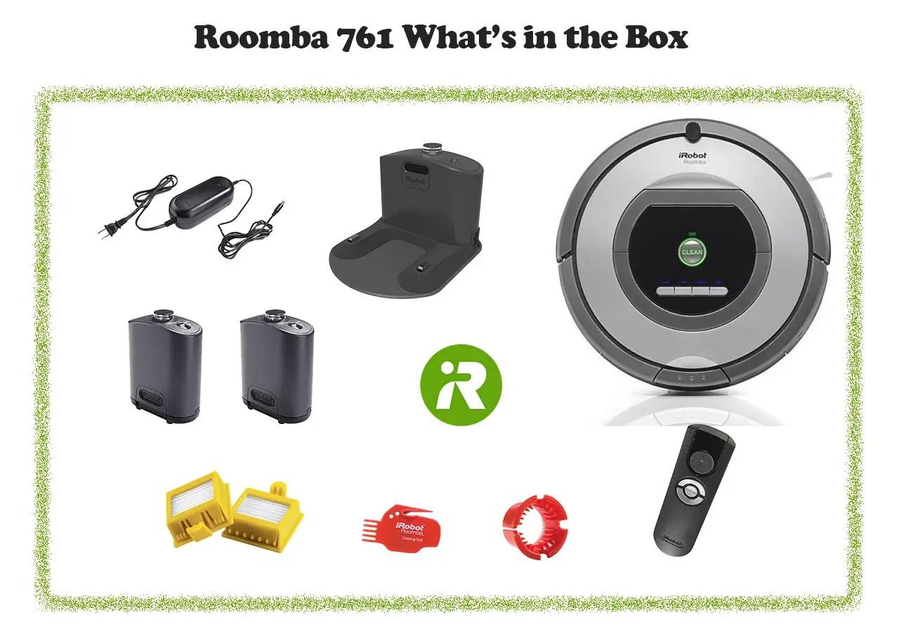 Roomba 761 in box