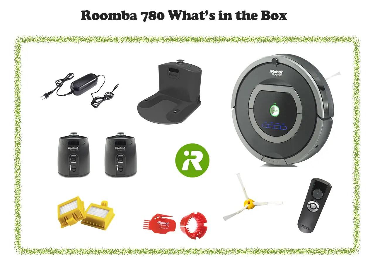 Roomba 780 in box