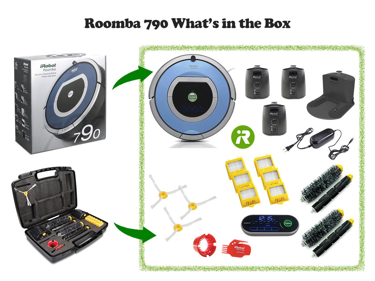 Roomba 790 in box