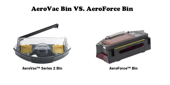 AeroVac Bin vs AeroForce Bin