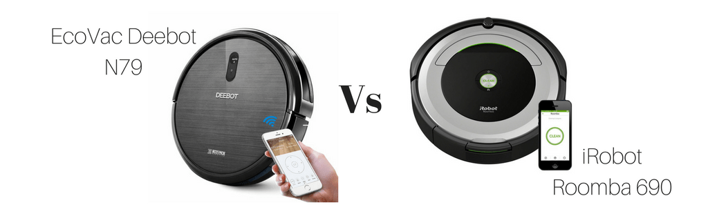 Deebot N79 vs Roomba 690 Comparison