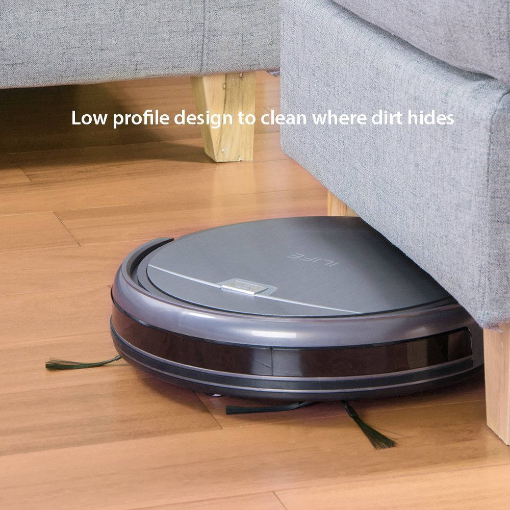 ILIFE A4S, Vacuum Fanatics, Reviews and Comparisons of Robotic Cleaners