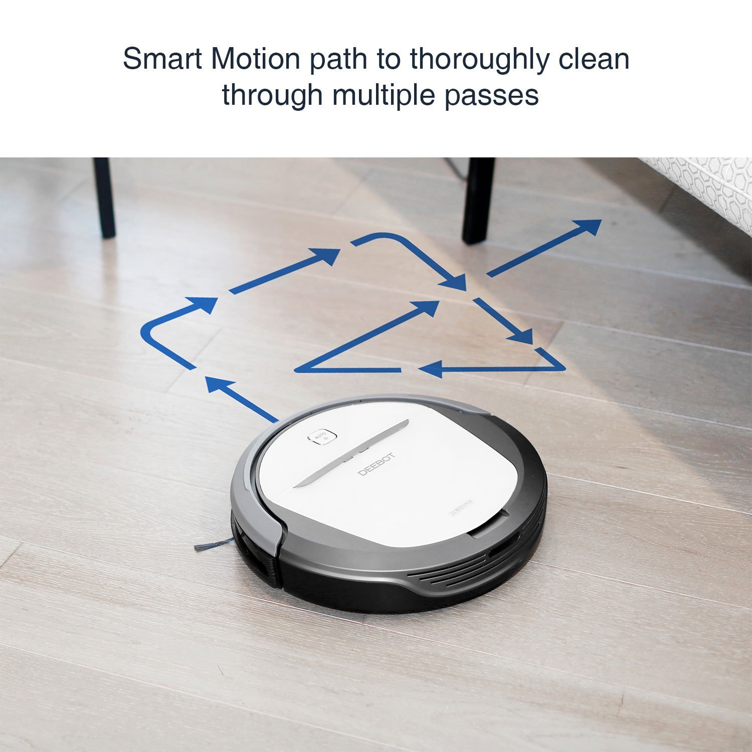 ECOVACS DeeBot M80, Cleaning PatternVacuum Fanatics, Reviews and Comparisons of Robotic Cleaners