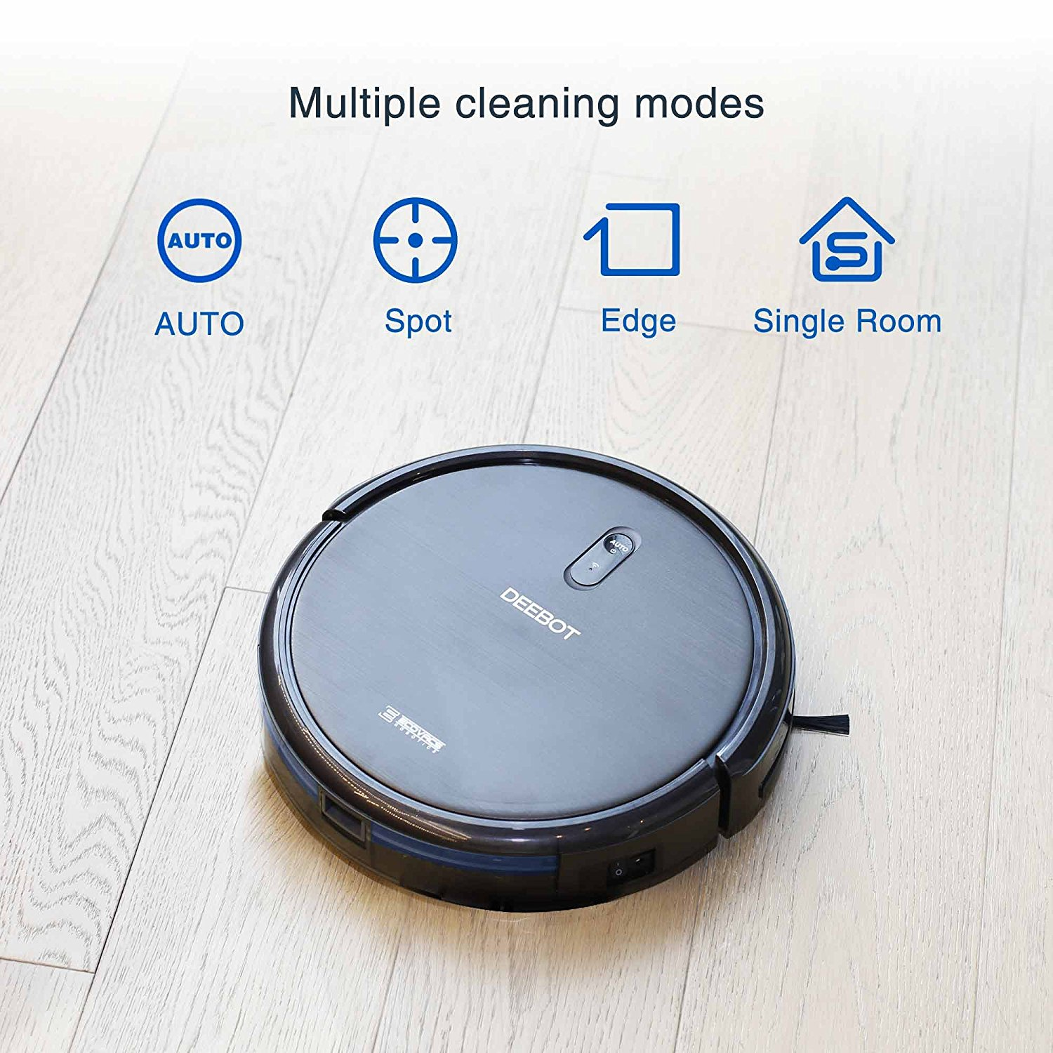 ECOVACS DeeBot N79, Cleaning Modes, Vacuum Fanatics, Reviews and Comparisons of Robotic Cleaners