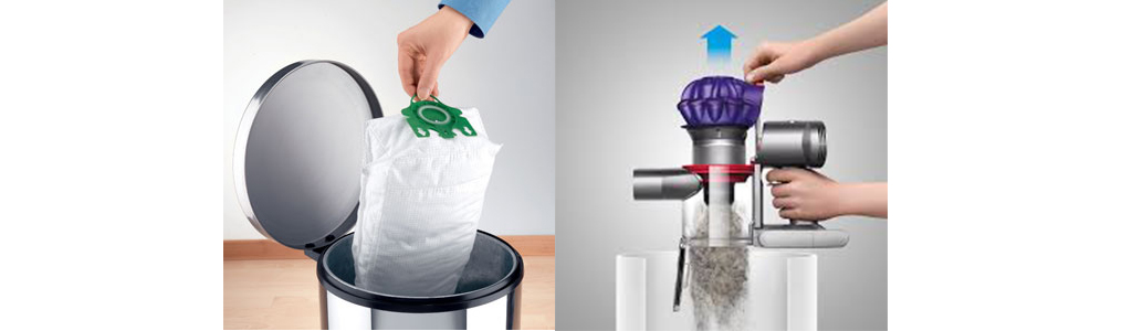 Vacuum bag vs bagless