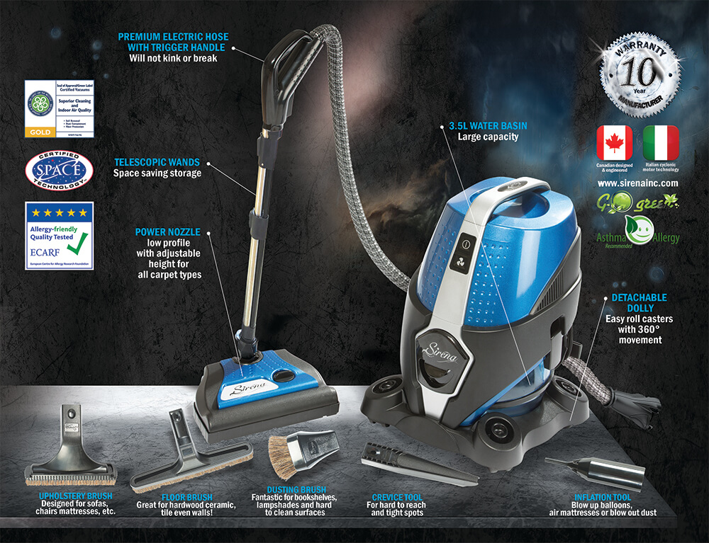 Best Water Filtration Vacuum Cleaners Review Of 2019 Air