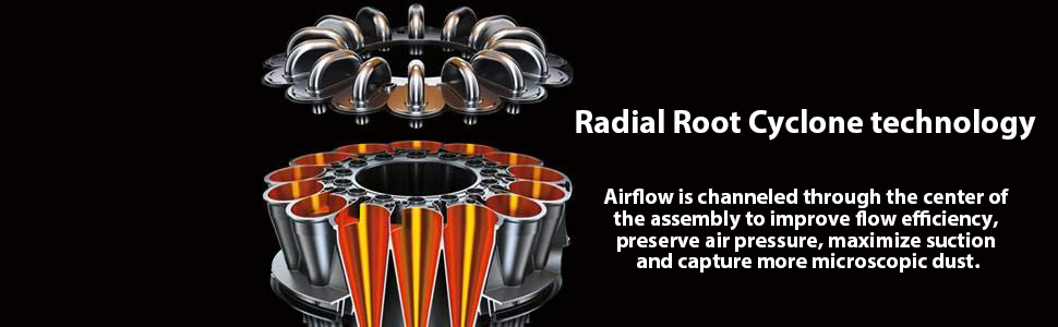 Radial Root Cyclone technology