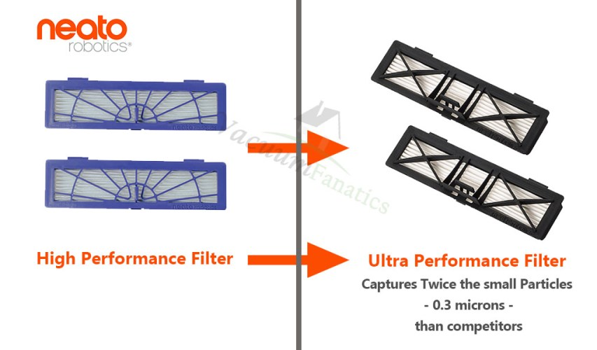 Neato High Performance vs Ultra Performance Filter