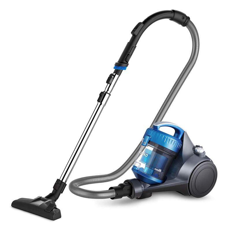 Eureka NEN110A Whirlwind Bagless Canister Vacuum Cleaner, Lightweight Corded Vacuum for Carpets and Hard Floors