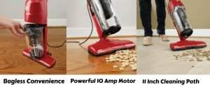 Dirt Devil Power Air Corded Bagless Stick Vacuum