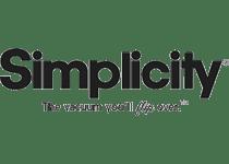 Simplicity logo. Simplicity Vacuum Repair & Sales. Simplicity Vacuums Warranty Center
