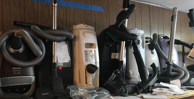 canister vacuum repair, Miele, Sebo, Dyson, Electrolux, Riccar