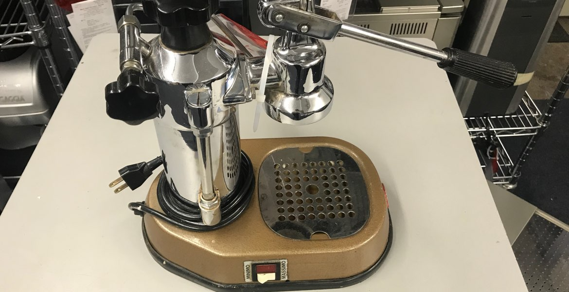 La Pavoni Europiccola Manual Espresso Machine Repair