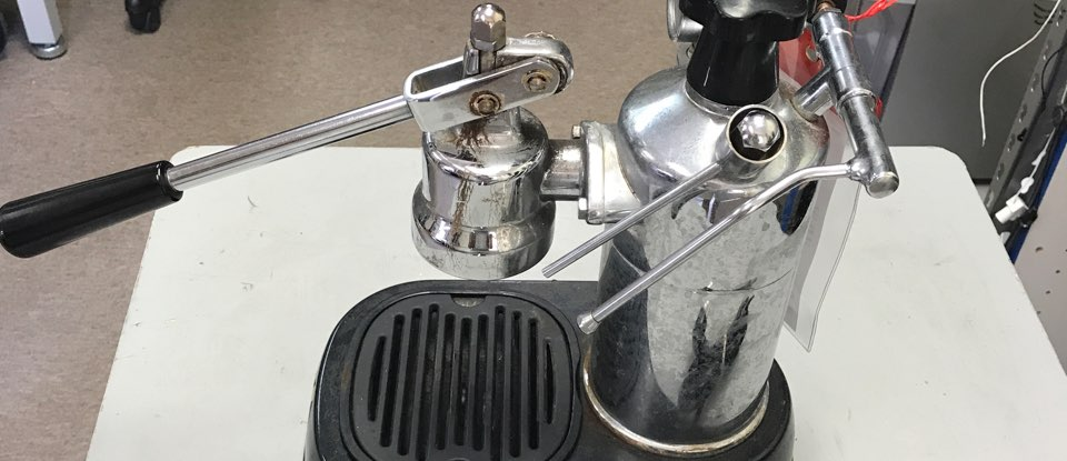 Manual Espresso Machine Repair