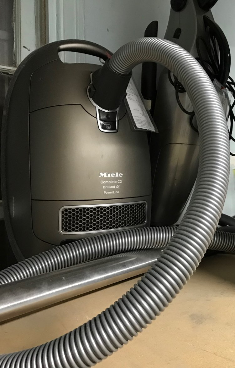 Miele Complete C3 Brilliant canister vacuum warranty service and repair
