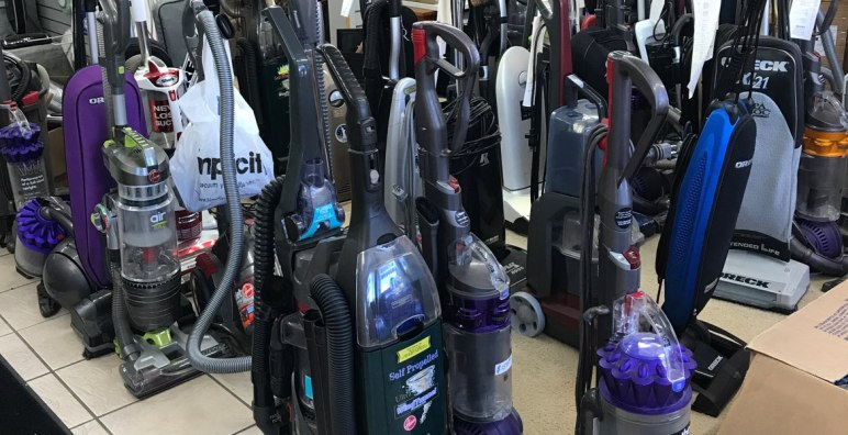 Repaired vacuums: Dyson, Bissell, Oreck, Miele vacuums