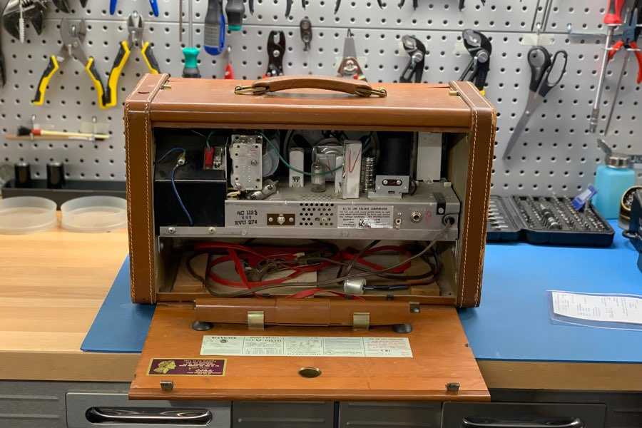 Vintage audio equipment repair