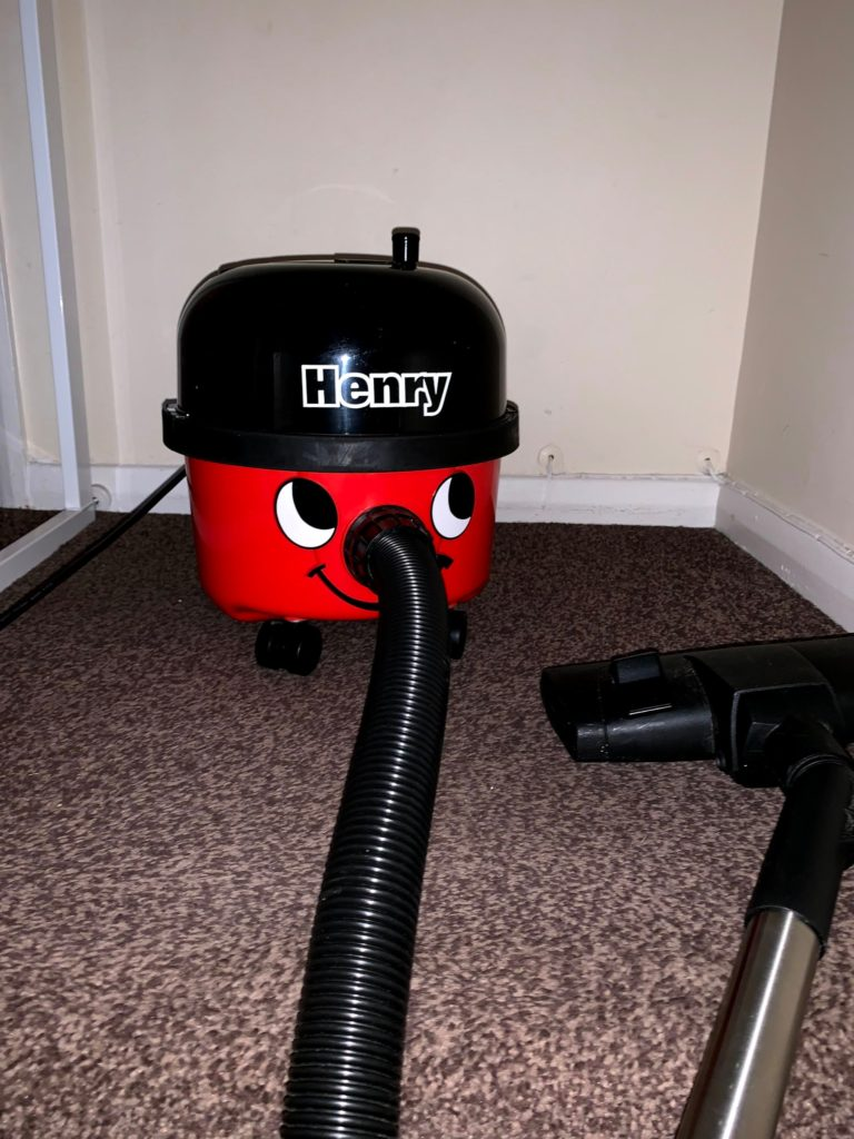 Why Do Builders Like Henry Hoovers? - Photo for first advantage