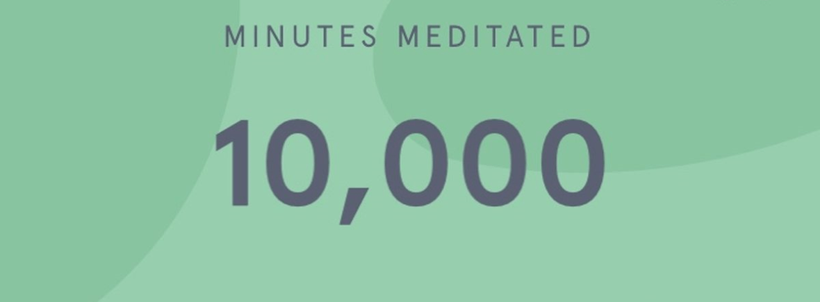 10k minutes meditation by Agnes Vad