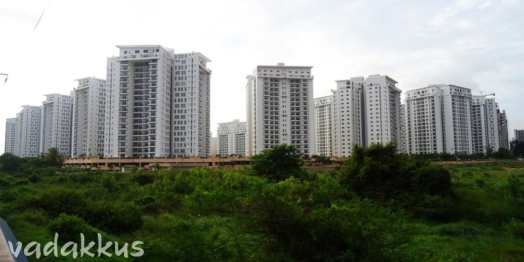 Prestige Shantiniketan Apartment COmplex opposite ITPL, Bangalore