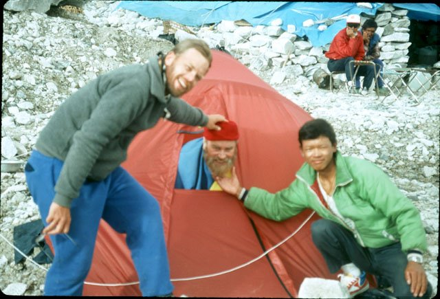 brian blessed everest