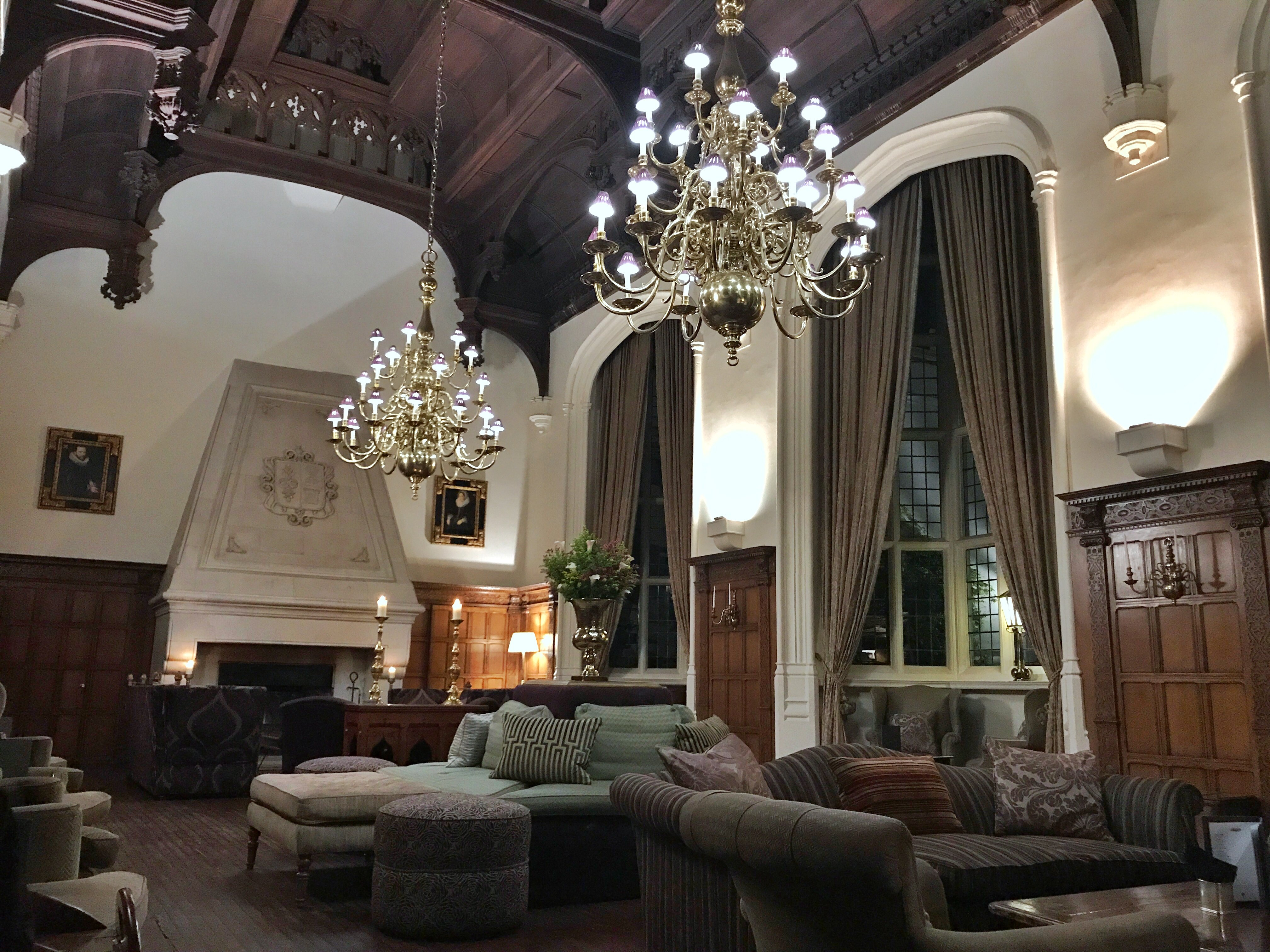 Danesfield House - grand lounge