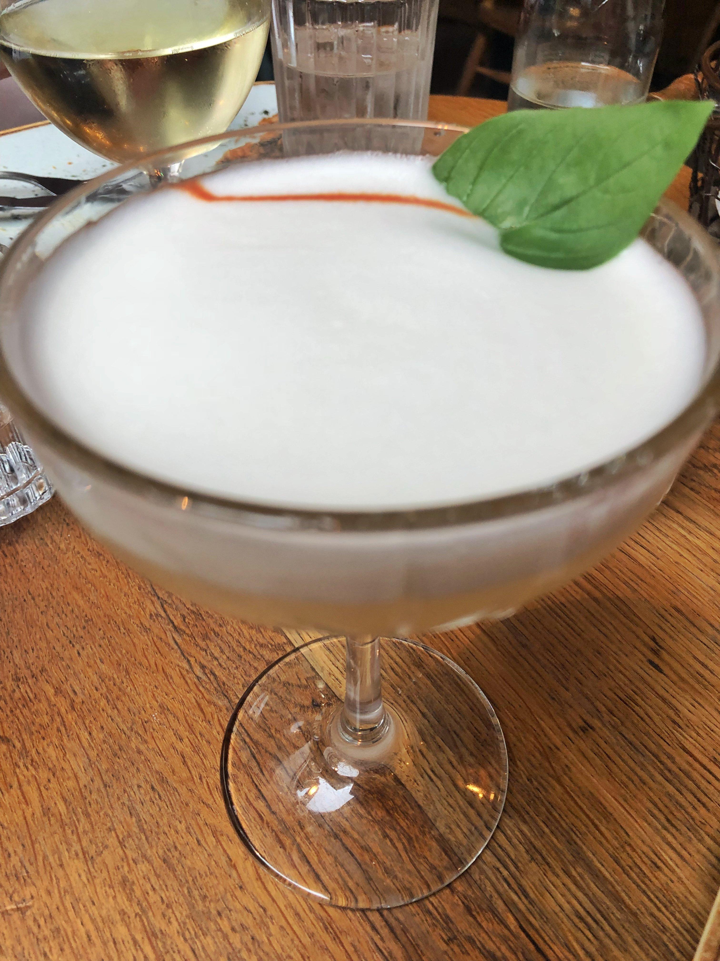 Oslo Hackney Gentleman's Sour cocktail