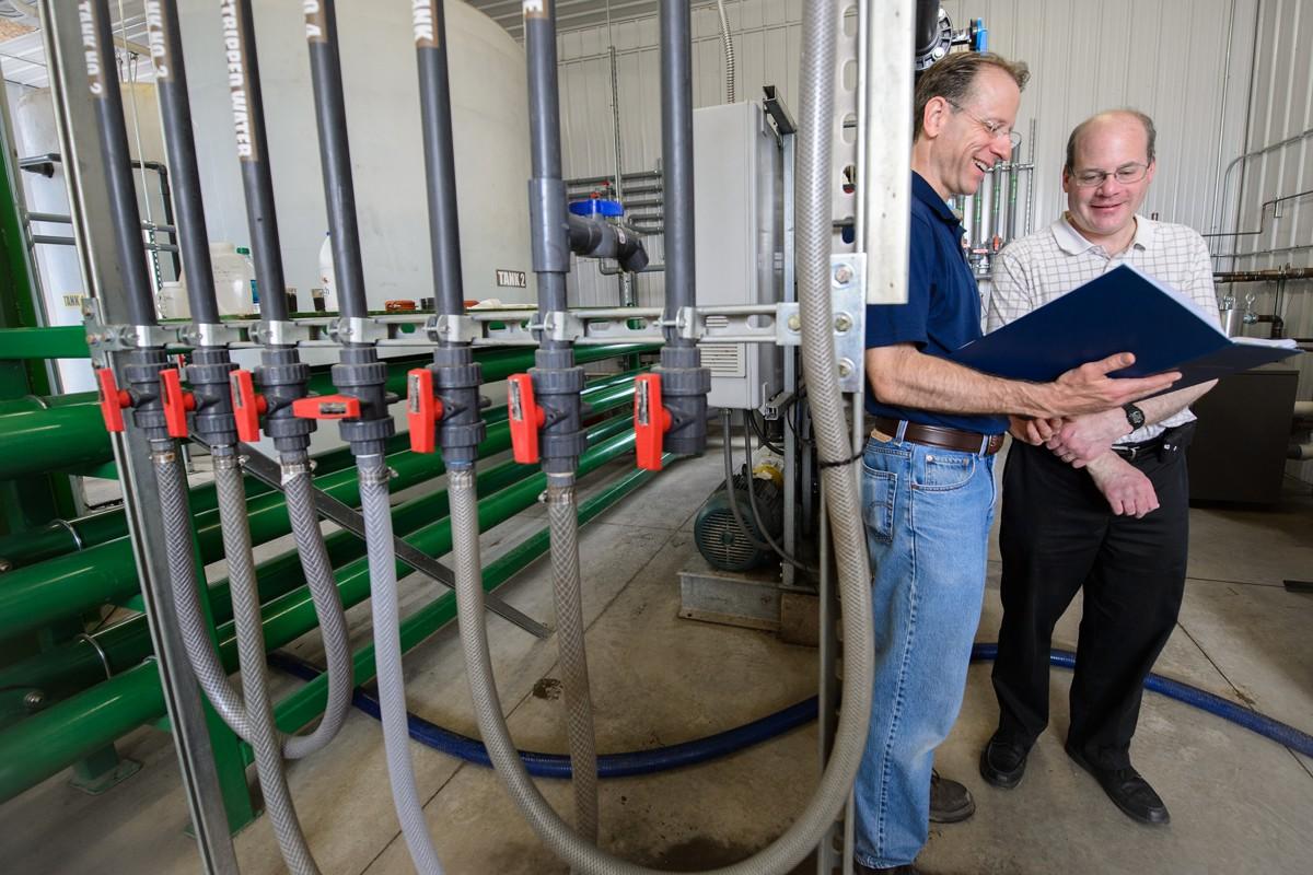 Добыча воды из навоза
