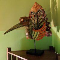 Деревянная птичка с Бали и чудеса 3-D технологий