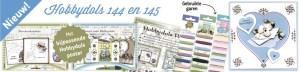 Hobbydols boekjes 144 en 145 + bijbehorende poster