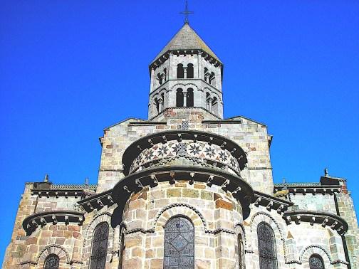 Chevet église romane Brioude (43) - Haute-Loire - Auvergne