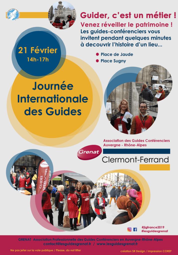 Pour des visites guidées flash gratuites de Clermont-Ferrand avec des guides conférenciers diplômés
