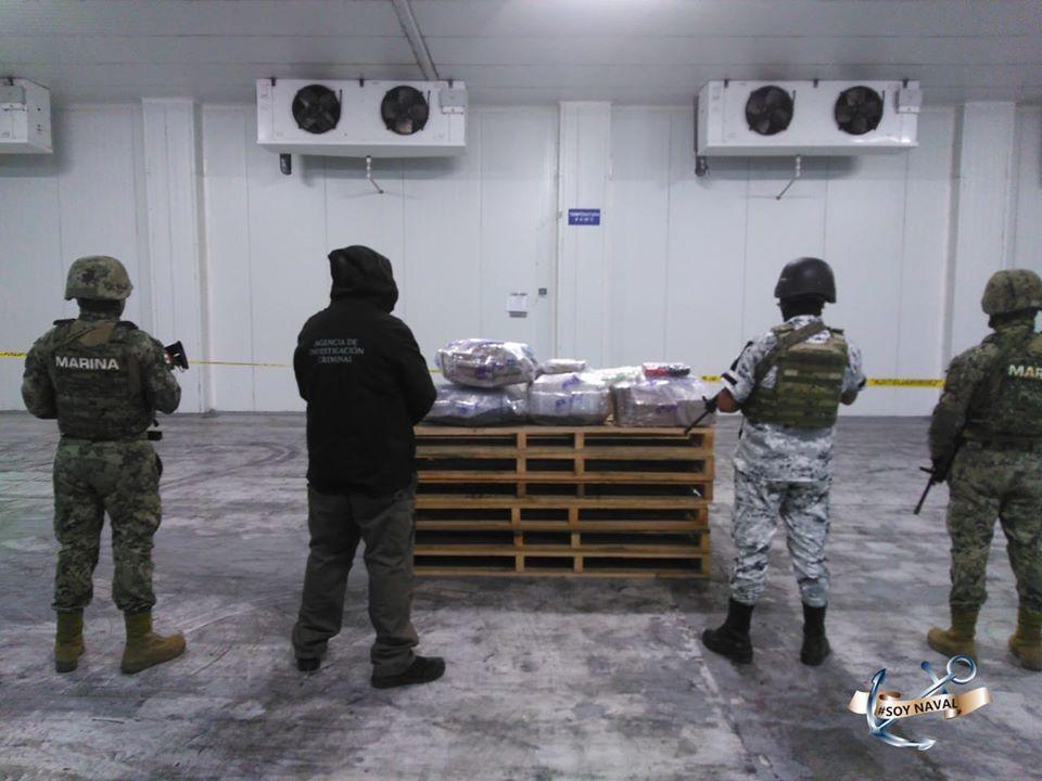 Aseguran 124.45 Kg de presunta cocaína en el Puerto