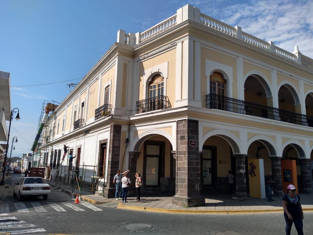 Intervienen edificio del Museo Regional de Historia en Colima, mejoran su estructura