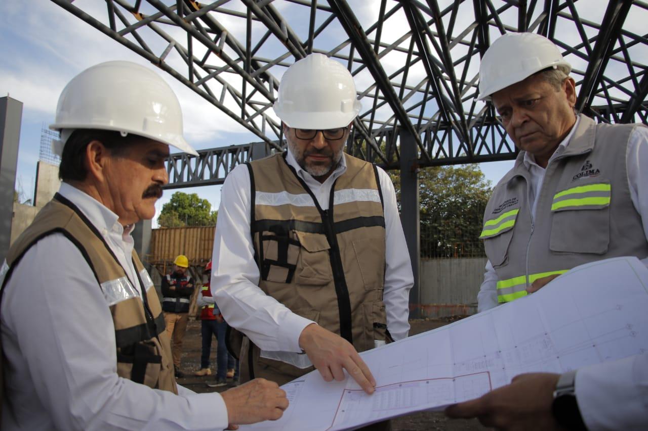 Gobernador supervisa avances en la construcción del C5i