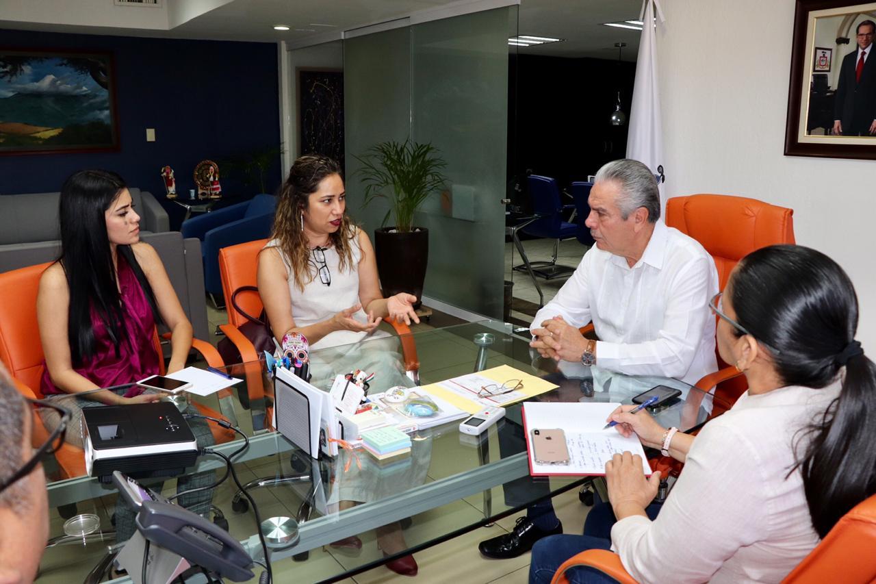 Acuerdan signar convenio de colaboración entre Cecycol y Educación