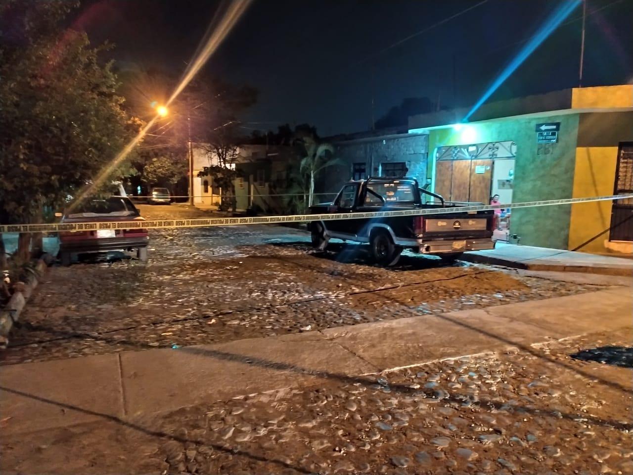 Un hombre recibió un disparo en el pie, esta noche en Villa de Álvarez