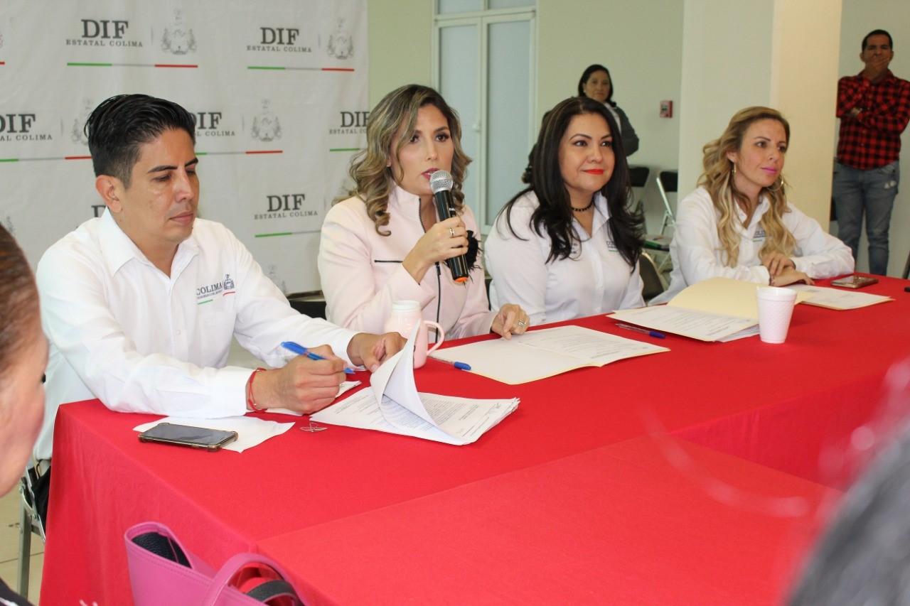 Acuerdan con Sistemas municipales DIF fortalecer acciones