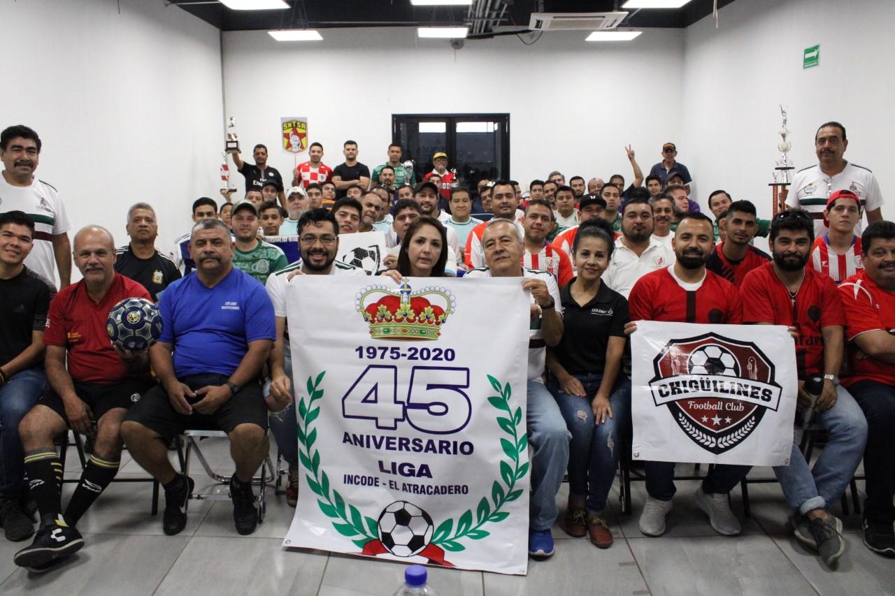 Inaugura Gobierno Estatal la Liga de Futbol Incode-El Atracadero